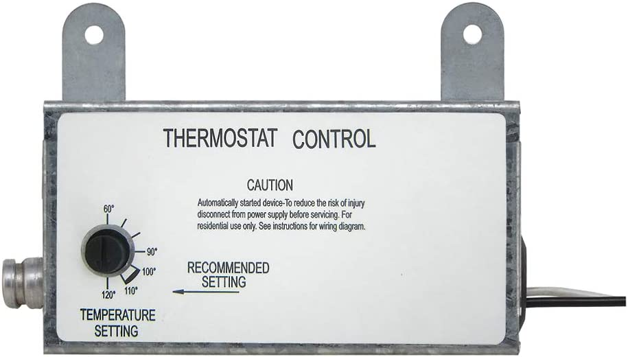 Iliving ILG-002T Spasm price Omaha Mall Fan Thermostat Silver Control Box 8