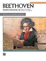 Piano Sonatas: Op. 2, Nos. 1, 2, 3; Op 7, Op 10, Nos 1, 2, 3; Op.13 (Alfred Masterwork Edition)