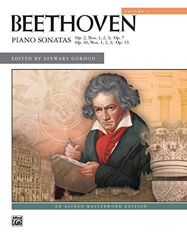 Beethoven -- Piano Sonatas, Vol 1: Nos. 1-8 (Alfred Masterwork Edition)