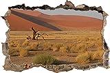 pixxp Blueprint 3D WD s1263_ 62x 42Algodón überreste en Desierto perforar Pared Adhesivo Pared en 3D, Vinilo, Multicolor, 62x 42x 0,02cm