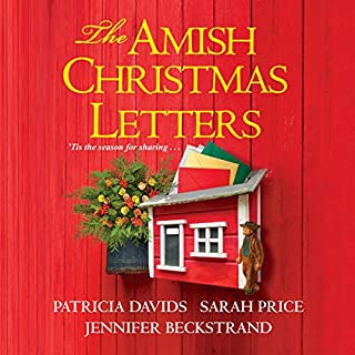 The Amish Christmas Letters audiobook cover art