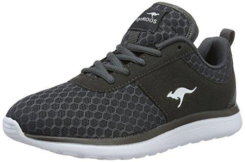 KangaROOS Bumpy Sneakers Damen, Grau(dk Grey 230), 39 EU