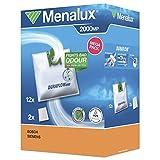 Menalux 2000 12 Sacchetti per aspirapolvere Siemens, Bosch,VS04 - VS07, BSG04 - BSG07