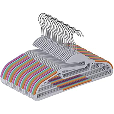 Utopia Home Lightweight Clothes Hangers - 30 Pack - Non-Slip Durable Clothes Hanger Set - Plastic Hanger Set