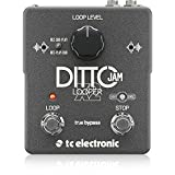 TC Electronics Ditto Jam X2 Looper Effects Pedal Bundle w/Power Supply
