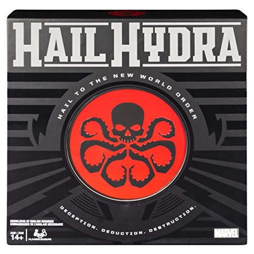 Spin Master Marvel: Hail Hydra Board Game - English