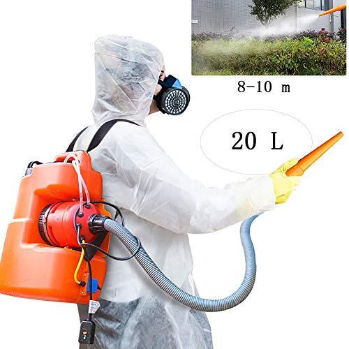 Yajun Elektrische Rückenspritze Drucksprüher für zu Hause Krankenhaus Garten Landwirtschaft Sprühgerät Tragbare Moskito-Killer 20 l