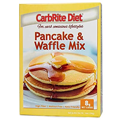 Doctor's CarbRite Diet - Brownie Mix - Maltitol Free - 3g Net Carbs Per Serving - No Artificial Sweeteners, Brownie, 11.43 Ounce