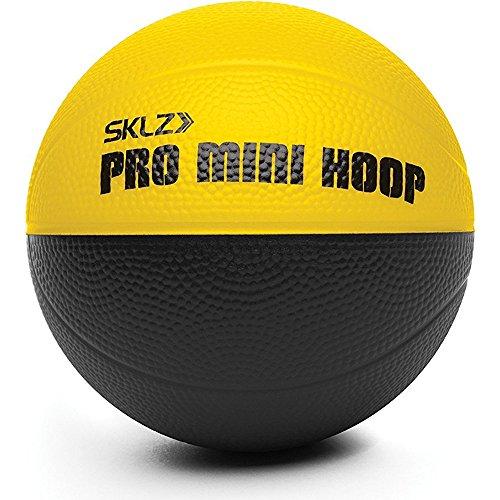 SKLZ Unisex Micro Ball Pro Mini Basketballkorb, Weiß, Schwarz, Marineblau, Grau, Orange, Rot, Gelb, Lila, Silber, Pink, 10,2 cm