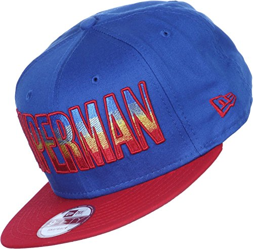 New Era x DC Comics - Casquette Snapback Homme 9Fifty Hero Fade Superman - Blue/Red - Taille M/L
