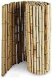 Artificial Pantalla Valla de privacidad Balcón Pantalla de privacidad Decorar Terrazas Casas Jardines Cerca de bambú 100% Natural Chihen210416
