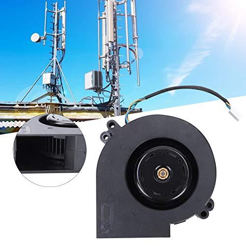 AUNMAS 190CFM 12 V 3,8 A kunststof dubbele afvoerluchtkoelkanaal inline ventilator kogellager radiale luchtuitrusting voor thuis