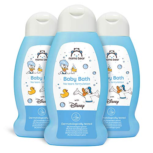 Mama Bear - Disney - Gel de baño para bebé (Fórmula sin lágrimas) - Paquete de 3 x 300ml