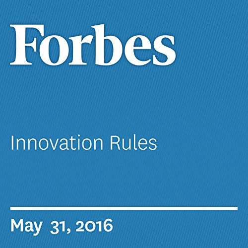 Innovation Rules audiobook cover art