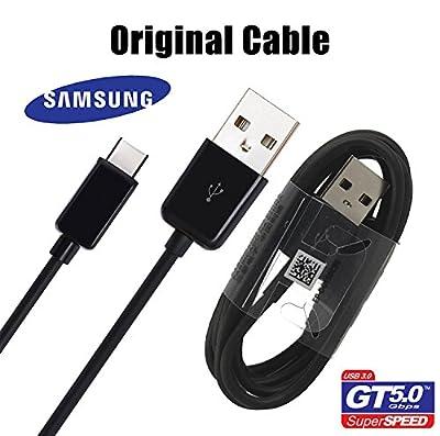 Samsung Original Data Cable Galaxy S8S8Edge with USB-C Model ep-dg950cbe Black in Bulk