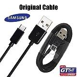 Câble d'origine Samsung pour Galaxy S8et S8Edge avec USB-C modèle ep-dg950cbe Noir Black en Bulk