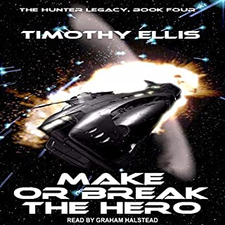 Make or Break the Hero audiobook cover art