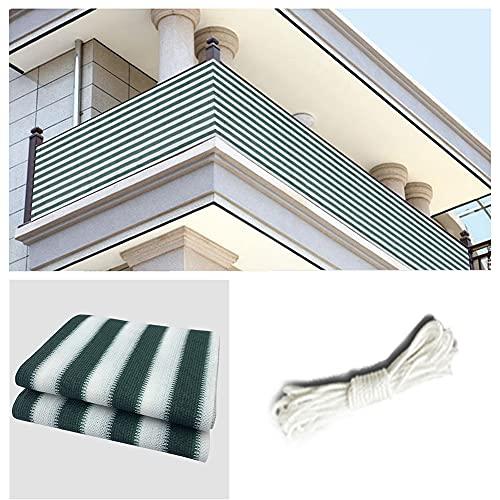 HYHMJ-Corredor Pantalla De Privacidad Resistente Al Calor Balcón Protector De Privacidad HDPE Anti-Envejecimiento Exterior Anti-Peeping Red De Aislamiento Cifrado Redes De Valla,C,0.9x5m