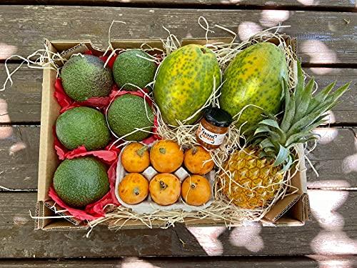 corbeille de fruits exotiques auchan