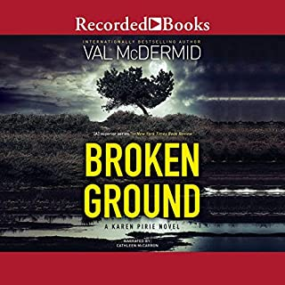 Broken Ground audiobook cover art