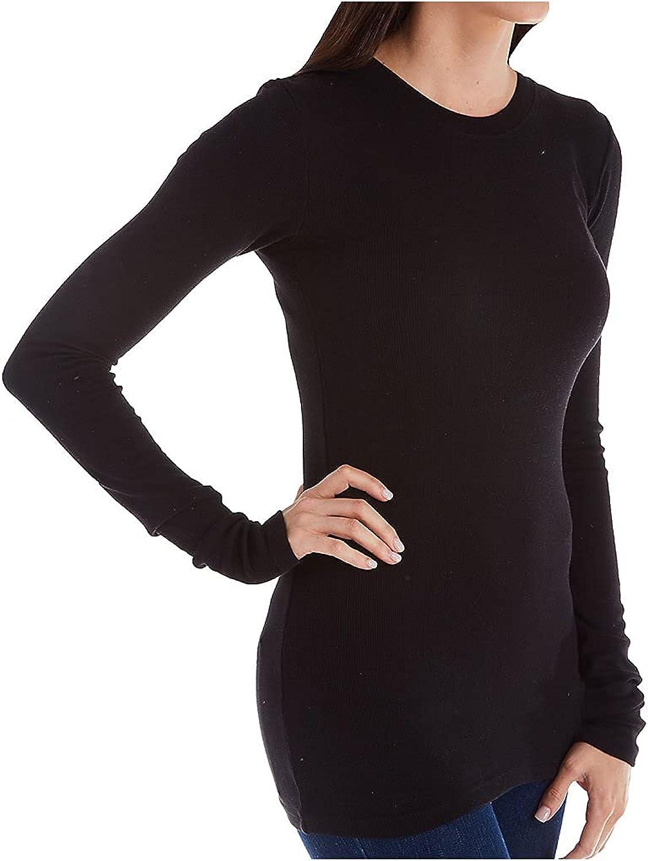 LAmade Women's Long Sleeve Thermal Tee