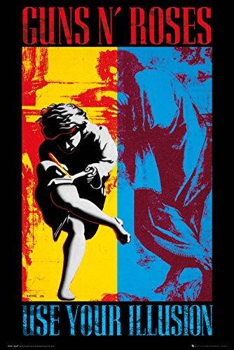 GB eye Ltd Guns N Roses, Illusion, Maxi Poster 61x 91,5cm, verschiedene