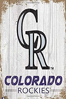 MLB Notebook Colorado Rockies Project Planner Jobs Book