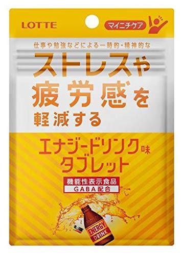 マイニチケア ストレスや疲労感を軽減するタイプ エナジードリンク味タブレット 10袋