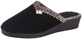 Amado Macario™ AMLS705 Ladies Womens Jo /& Joe Mule Slippers with Rubber Sole