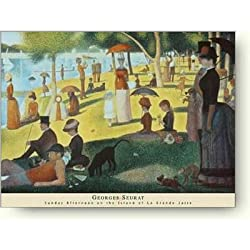 ジョルジュ・スーラ,A Sunday on La Grande Jatte,1884年