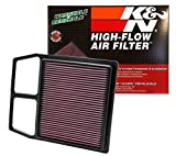 K&N Engine Air Filter: High Performance, Premium, Powersport Air Filter: Fits 2011-2020 CAN-AM (Commander 1000R, DPS, LTD, XT, 800R, Mossy Oak Hunting Ed, X mr, X xc, XC, 1000) CM-8011