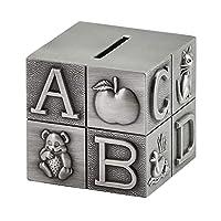 お金のお金の金庫、ヨーロッパの金属の子供の貯金箱のお金箱貯金箱の家の装飾かわいい創造的な誕生日ギフト貯金箱