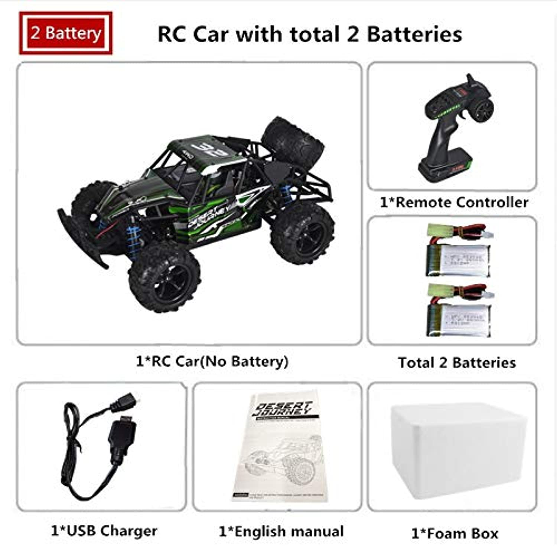Generic RC Car 4WD 50+KM H High Speed Remote Control 2 4G 18