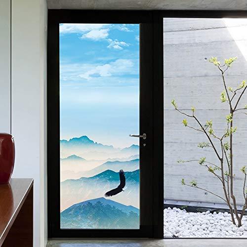 YSHUO raamstickers glazen stickers elektrostatische mat licht ondoorzichtig badkamer schuifdeur decoratie