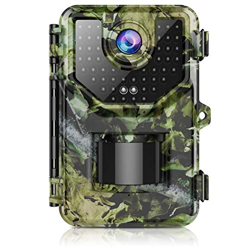 Trail Camera, Hunting Camera with 120° Wide-Angle Motion...