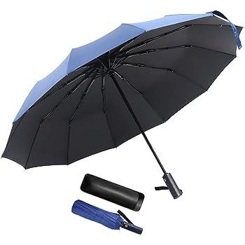 Compact Voyage SMATI Parapluie Geometric Fleur Pliant Ouverture Fermeture Automatique Solide Anti Vent