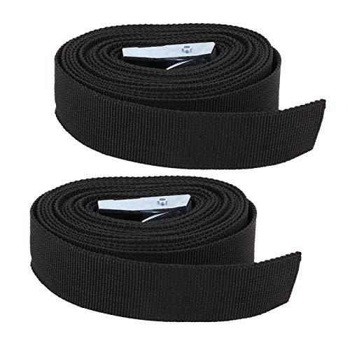 Freyla Buckle Tie‑down-2pcs Buckle Tie‑down Belt Cargoes Strap for Outdoor Luggage Camping Bag Strong Ratchet Belt