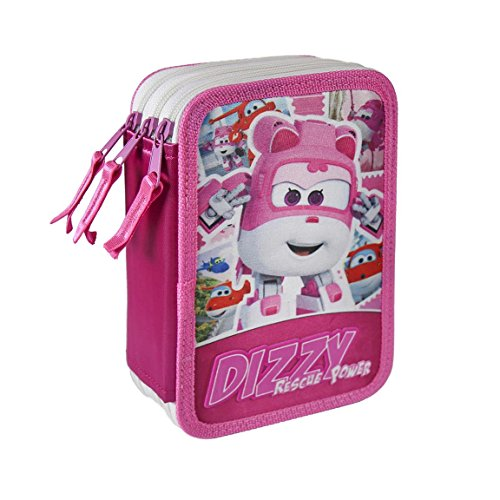 Cerdá Super Wings etui, 19 cm, roze/wit