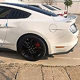 YMSHD Alerón Trasero para Ford Mustang Gt350 2015 2016 2017 2018 2019 2020 2021 Abs/Fibra Carbono Alerón Trasero Coche ala Techo Maletero ala Labio Maletero Alerón Trasero Accesorios Estil