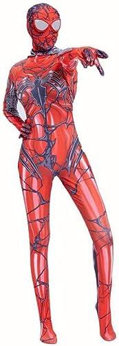 punto de venta en línea Traje rojo De De De Spiderman Cosplay Adulto Elastic Cap Leotard Anime Props Juego De Ropa,rojo-XXXL  Ahorre 35% - 70% de descuento