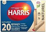 Harris - ALUM02 - Allume-Feu - 20 Bâtonnets - Allumettes Naturels