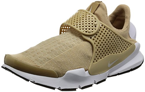 Nike Sock Dart Women's Running Shoes Dark Stucco/White-Black 848475-005 (7 B(M) US)