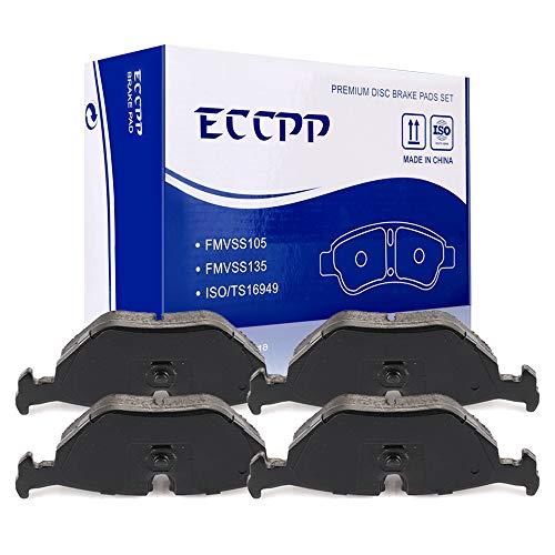Brake Pads,ECCPP 4pcs Rear Ceramic Disc Brake Pads Kits fit for BMW 318/323/325/328/525/528/530/540/735/740 i is iL iT,BMW M3/M5,1998-2002 BMW Z3