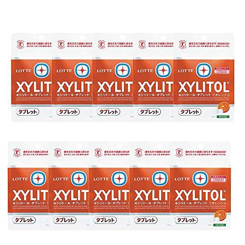 キシリトールタブレット 10袋 オレンジ