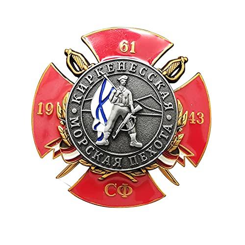 Insignia conmemorativa de la guerra patriótica de la Unión Soviética de 1943,insignia de la colección conmemorativa de la Segunda Guerra Mundial,medalla de recuerdo insignia de la medalla militar