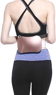 Eléctrica que adelgaza la correa, quema de grasa del vientre de quemador de grasa Pérdida de Peso Forma vibración de cuerpo que adelgaza la correa del masaje de ejercicios de fitness para,Rosado