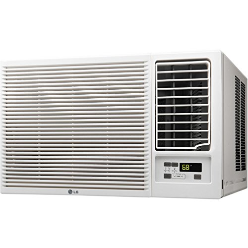LG Electronics LW1215HR 12000 BTU 230-volt Slide in-Out Chassis Air Conditioner with 11200 BTU Supplemental Heat Function