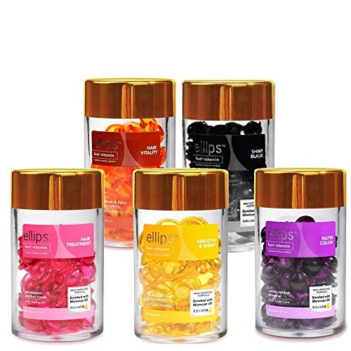 Ellipse ellips hair vitamin treatment 50 grain input Pink Brown black, yellow, purple deals five set [parallel import goods]