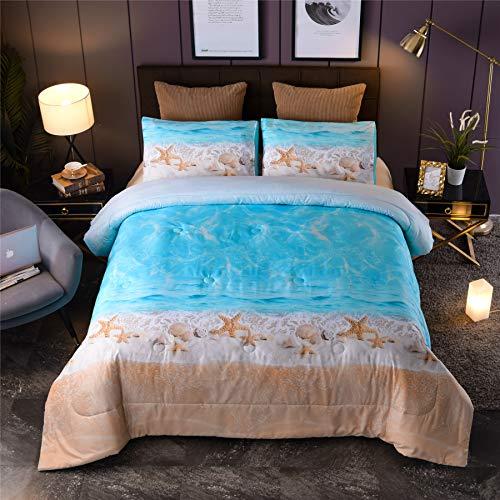 cute beach comforter set