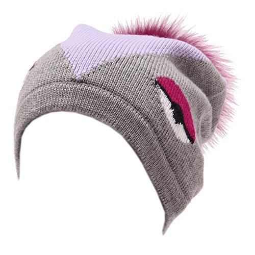 FENDI 4395U cuffia bimba lana multicolor wool hat kid girl [III/49 CM]
